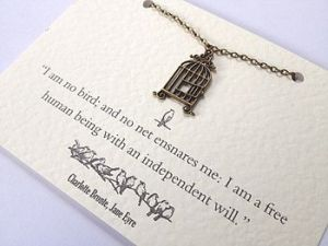 Jane Eyre Birdcage Necklace £12