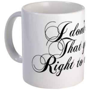 Jane Eyre quotation mug