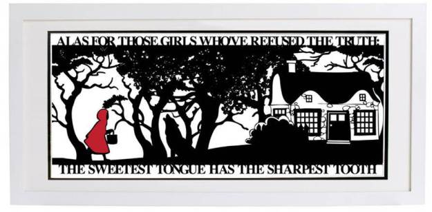 original_red-riding-hoods-folly-signed-papercut-print