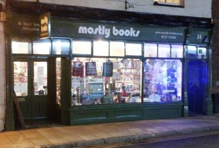 Mostly Books Abingdon Late Night Opening