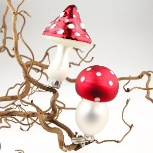 toadstool tree decorations