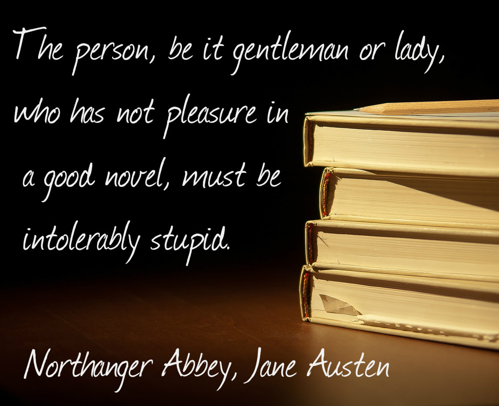 pleasure in a good novel Austen