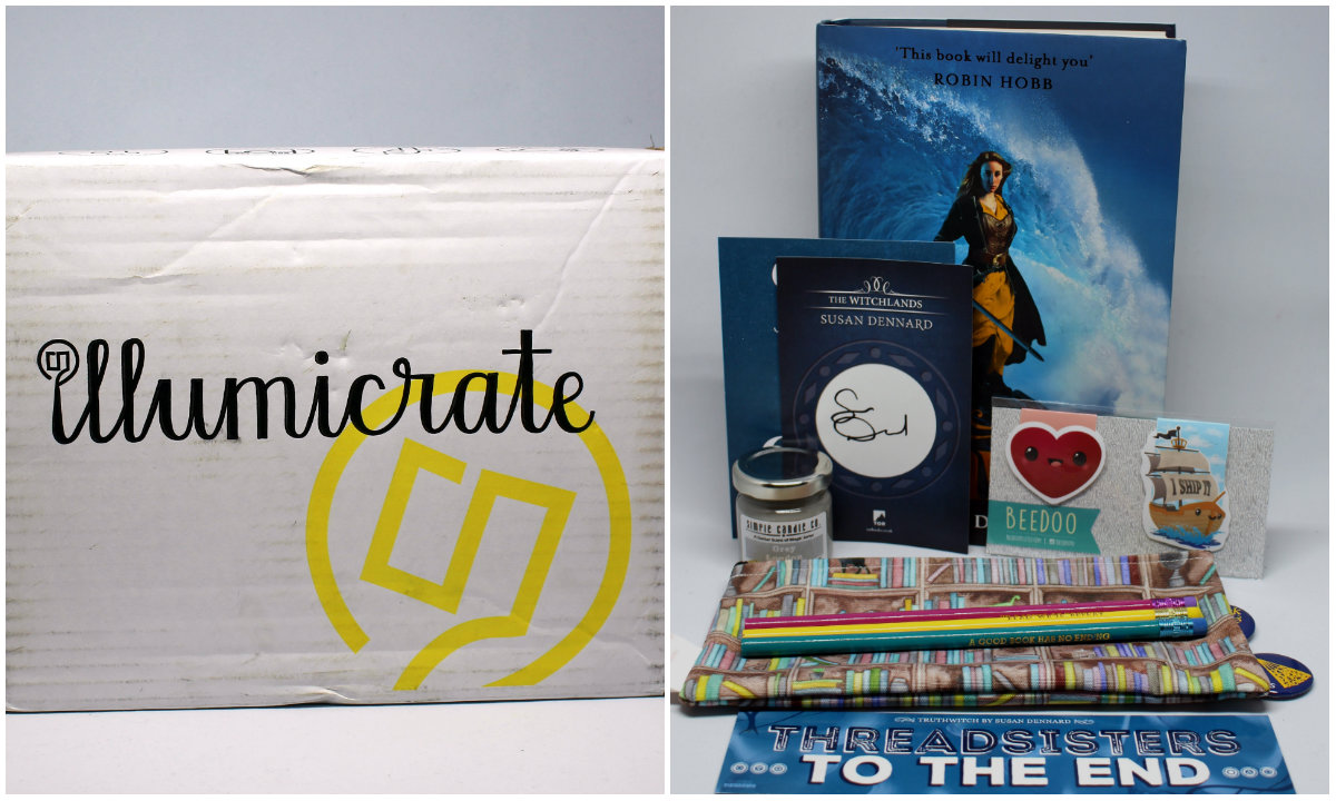 illumicrate subscription unboxing review
