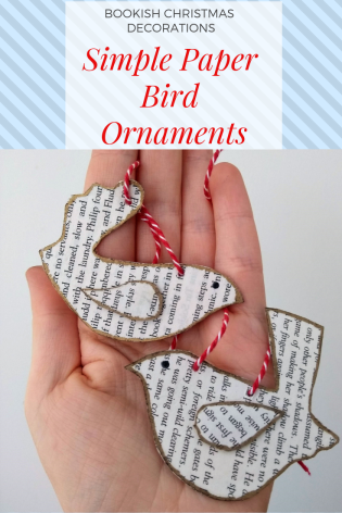 Five minute paper bird craft christmas robin easy for kids