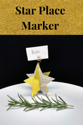 crafts for kids 3d star ornament christmas decoration or placemarker