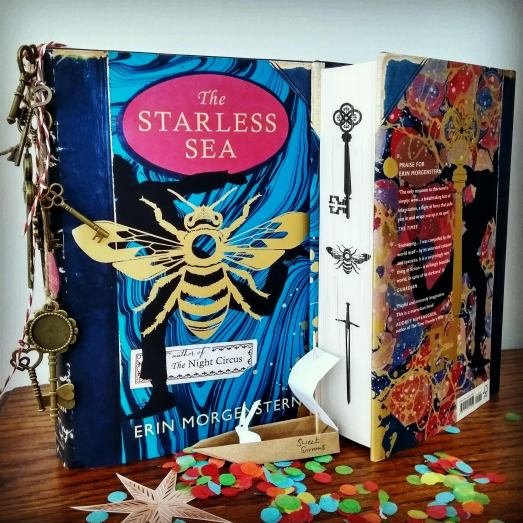 The Starless Sea Erin Morgenstern Bookstagram origami doll house